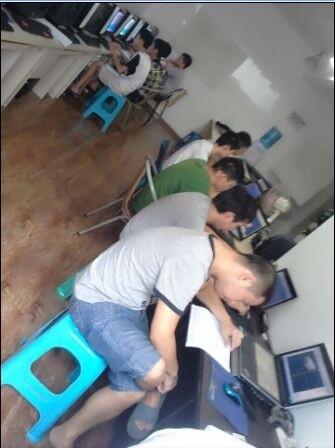 成都的数控UG培训工作室