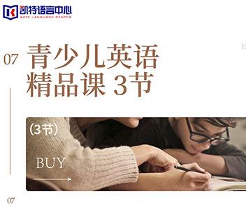 北京青少儿英语精品课程