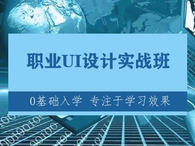 北京职业UI设计实战班