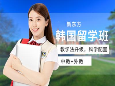 西安韩国出国留学服务