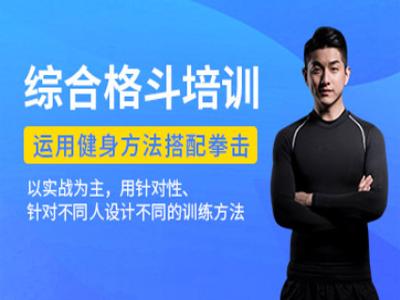 西安综合格斗健身教练培训